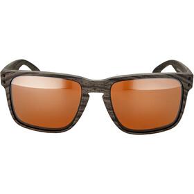 Oakley Holbrook XL Occhiali da sole, woodgrain/prizm tungsten polarized